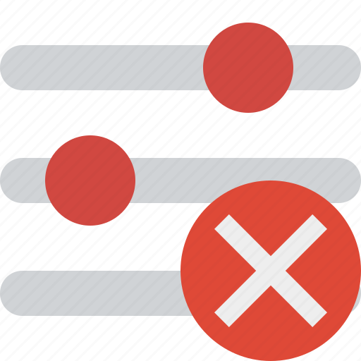 cancel, configuration, options, preferences, settings icon