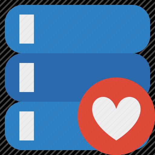 data, database, favorites, server, storage icon