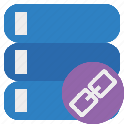 data, database, link, server, storage icon