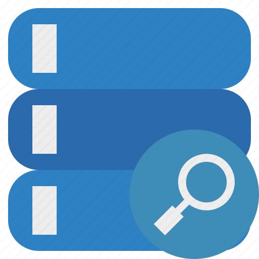 data, database, search, server, storage icon