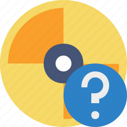cd, disc, disk, dvd, help icon