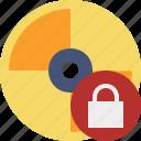 cd, disc, disk, dvd, lock