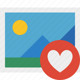 favorites, gallery, image, photo, picture icon