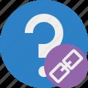 faq, help, link, question, support