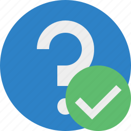 faq, help, ok, question, support icon