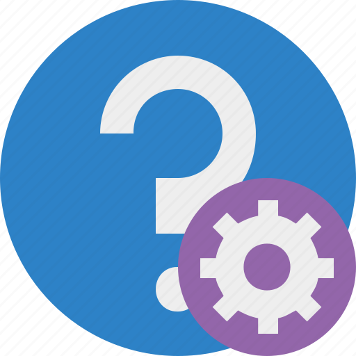faq, help, question, settings, support icon