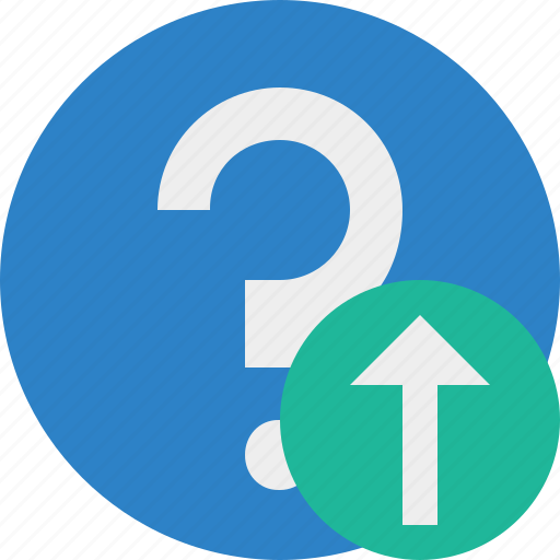 faq, help, question, support, upload icon