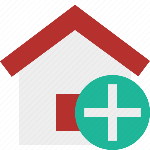 add, address, building, home, house icon