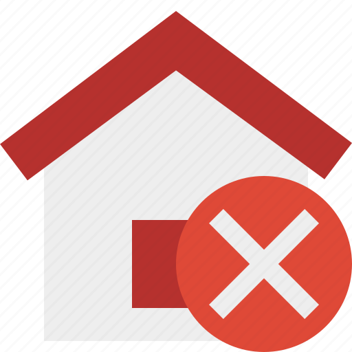 address, building, cancel, home, house icon