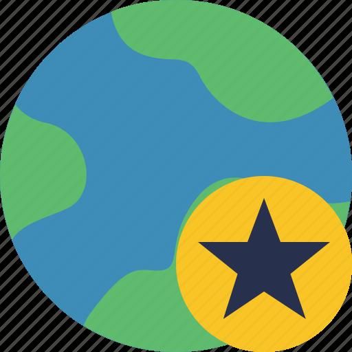 earth, internet, planet, star, web, world icon