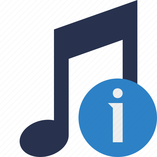 audio, information, multimedia, music, note, sound icon
