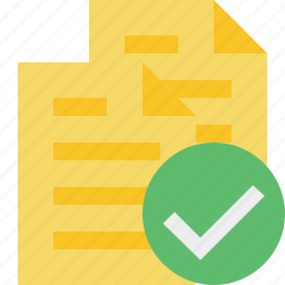 copy, documents, duplicate, files, ok icon