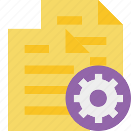 copy, documents, duplicate, files, settings icon