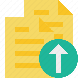 copy, documents, duplicate, files, upload icon
