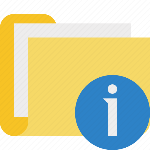 category, documents, file, folder, information icon