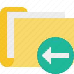 category, documents, file, folder, previous icon