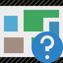 help, location, map, navigation, travel icon