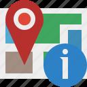 gps, information, location, map, marker, navigation, pin