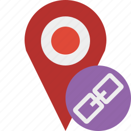 gps, link, location, map, marker, navigation, pin icon