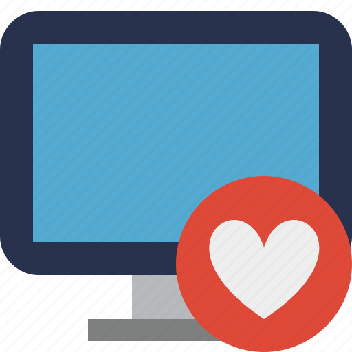 computer, desktop, display, favorites, monitor, screen icon