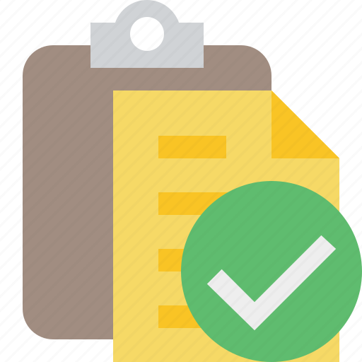 clipboard, copy, ok, paste, task icon