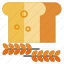 bread, cooking, food, ingredients, kitchen, recipe, restaurant icon