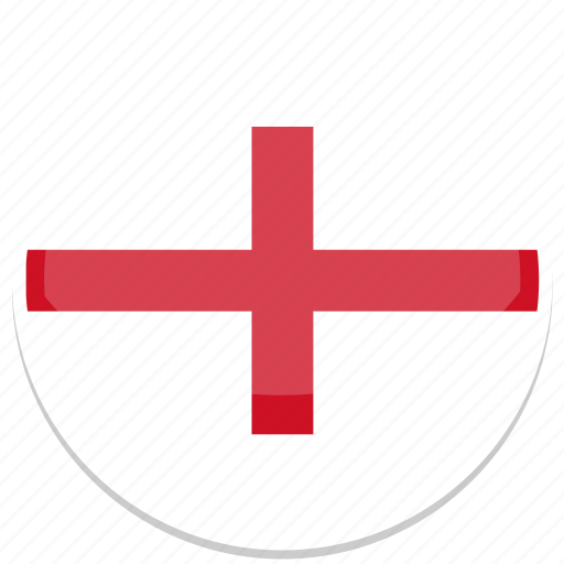 england, flag, kingdom, round, uk, united icon