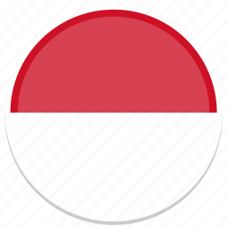 circle, flag, flags, monaco, round icon