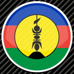 caledonia, new icon