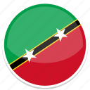 and, saint, nevis, kitts, flag, country, nation