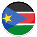 south, sudan icon