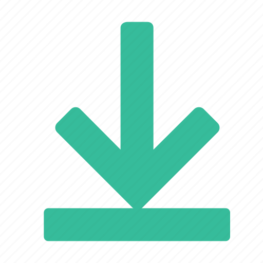 arrow, document, down, download, file, folder, information icon