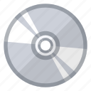 disc, object, program, software icon
