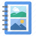 add, album, create, imaging, show icon