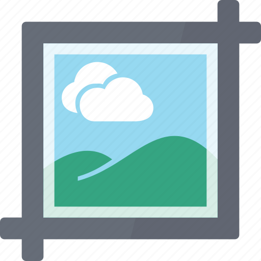 crop, imaging, jpeg, modify, option, photo, picture icon