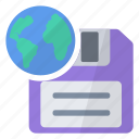data, file, for, imaging, information, save, web icon