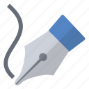 freedom, graphics, imaging, pen, tool icon