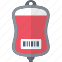 blood, medecine, object, transfusion icon