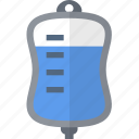 color, hospital, infusion, medical, object icon