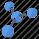 element, molecule, object, color