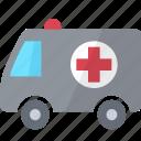 ambulance, car, hospital, medical