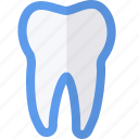 dental, medical, object, tooth icon