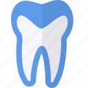 dental, medical, overlay, tooth icon