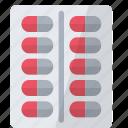 blister, medicine, pills icon