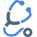 doctor, medical, stethoscope icon