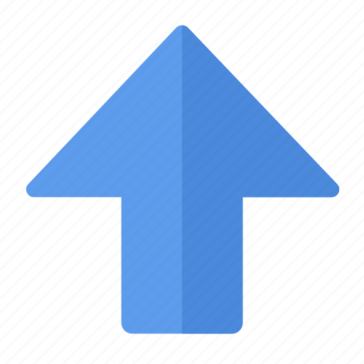 action, arrow, direction, gps, location, navigation, up icon