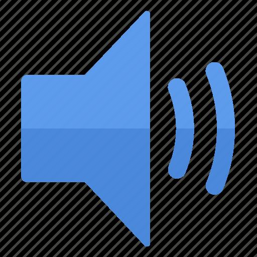 action, high, increase, multimedia, sound, speaker, volume icon