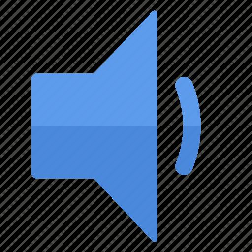 action, decrease, instrument, low, sound, speaker, volume icon