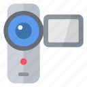 camcorder, camera, clip, film, movie, multimedia, video icon
