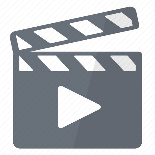 Clap, movie, play, cinema, film, multimedia icon - Download on Iconfinder
